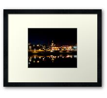 Saint Paul Cathedral at Night Framed Print