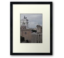 Where History Still Stands Framed Print