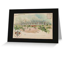 1904 St. Louis World's Fair Official Postcard Greeting Card