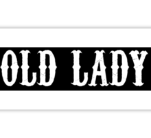 Old Lady Sticker