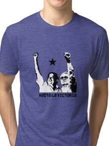 Hasta la Victoria! Tri-blend T-Shirt