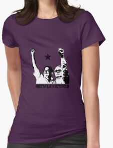 Hasta la Victoria! Womens Fitted T-Shirt