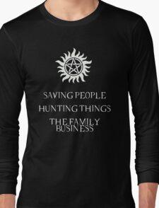Supernatural motto Long Sleeve T-Shirt