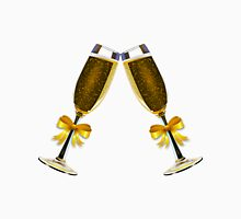 Champagne Glasses Unisex T-Shirt