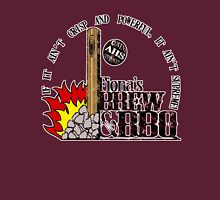 BREW and BBQ in Color T-Shirt