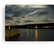 Douglas Quay & Braye at night Canvas Print