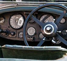 Bentley 8 Litre Tourer interior (Vanden Plas) (1931) by Frits Klijn (klijnfoto.nl)