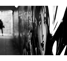 Graffiti in the Underpass Photographic Print