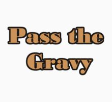 Pass the Gravy thanksgiving One Piece - Short Sleeve