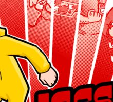 Jesse Pinkman vs. the world! Sticker