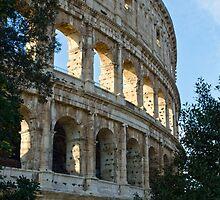 Rome - The Colosseum - By Andrea Mazzocchetti by Andrea Mazzocchetti