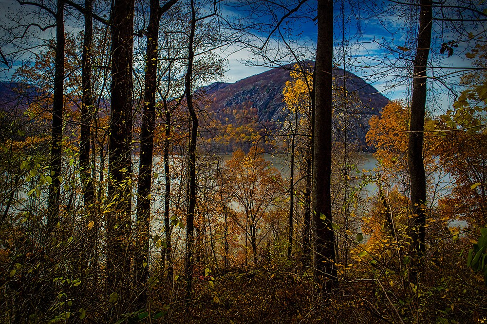 Hudson River Valley Fall View by Chris Lord