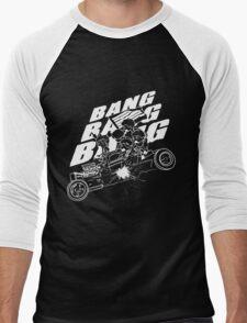 BIGBANG BANG BANG BANG (White) Men's Baseball ¾ T-Shirt
