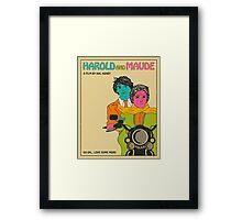 Harold and Maude Framed Print