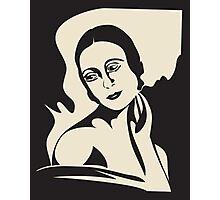 prima ballerina -  black and white version Photographic Print