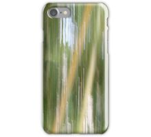 Holes in the Bamboo curtain iPhone Case/Skin