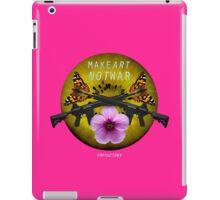 makeARTnotWAR #2 iPad Case/Skin