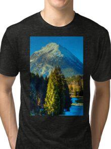 Hohe Munde Ostgipfel Tri-blend T-Shirt