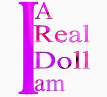 T-shirt / I am a real dool Womens Fitted T-Shirt