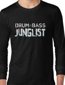 Drum&Bass/Junglist 3D Long Sleeve T-Shirt