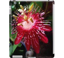 Lady Margaret Passiflora iPad Case/Skin