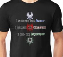 The Hero of Dragon Age Unisex T-Shirt
