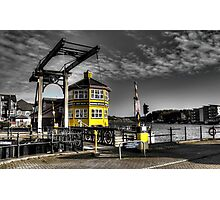 Marina Boat Sales Office Photographic Print