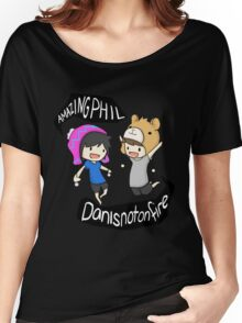 AmazingPhil and Danisnotonfire Women's Relaxed Fit T-Shirt
