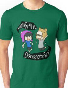 AmazingPhil and Danisnotonfire Unisex T-Shirt