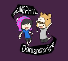 AmazingPhil and Danisnotonfire Womens Fitted T-Shirt