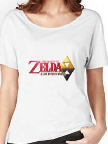 The Legend of Zelda: A Link Between Worlds Women's Relaxed Fit T-Shirt