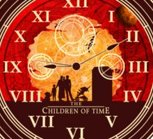 The Children of Time - Fob Watch Sticker