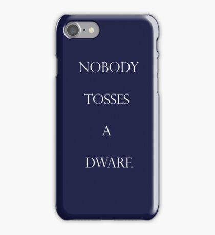 Gimli's finest words iPhone Case/Skin