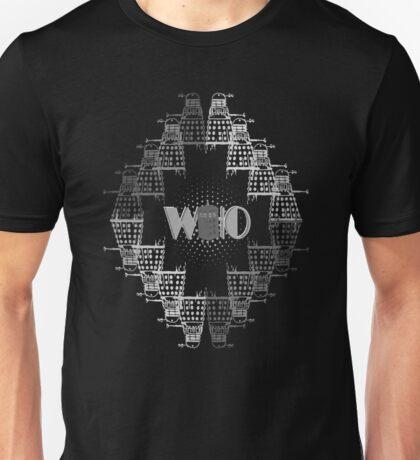 Color Me Who 50th Anniversary B/W Unisex T-Shirt