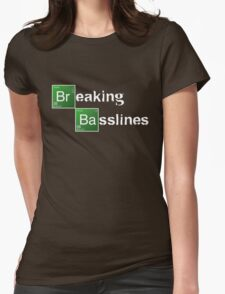 Breaking Bad/Basslines  Womens Fitted T-Shirt