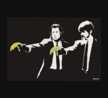 Banksy Pulp Fiction by chutch252