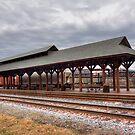 Forgotten Railroad Platform by Gene Walls