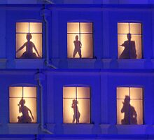 Window Ballet. by Andrew Nawroski