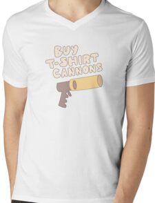 Buy T-Shirt Cannons Mens V-Neck T-Shirt