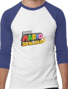 Super Mario 3D World Men's Baseball ¾ T-Shirt