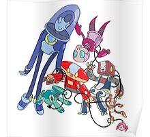 Robot Parade Poster