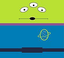 Little Green Alien by vareaher