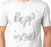 Happiness Calligraphy Art Unisex T-Shirt