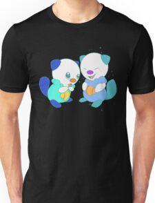 Hey, you look different! ( Oshawott ) Unisex T-Shirt