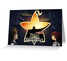 Kingdom Hearts - Fated Together Greeting Card