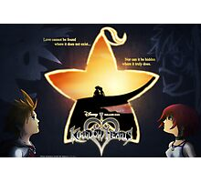 Kingdom Hearts - Fated Together Photographic Print