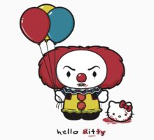 Hello It (STICKER) by mikehandyart