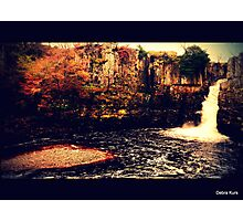 High Force Waterfall -Teesdale  Photographic Print