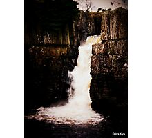 The Waterfall in November  Photographic Print