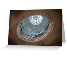 There's a Hole in My Ceiling || Glasgow City Chambers, Glasgow  Greeting Card
